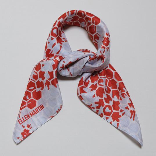 Kyoto Printed Textiles Silk Scarves