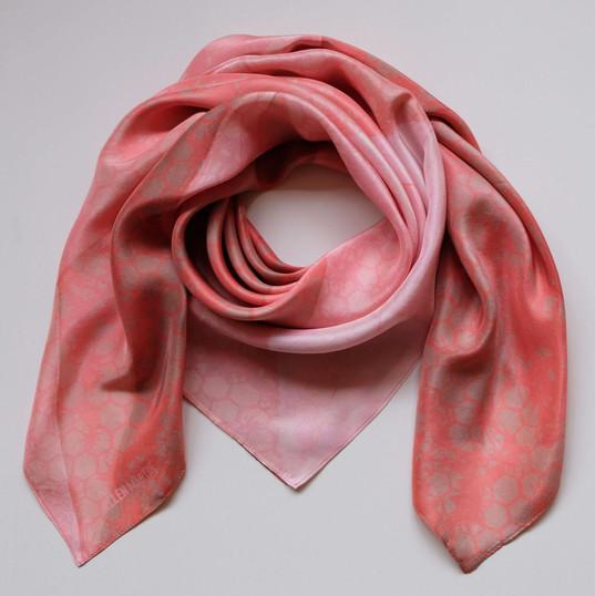 Origami Printed Textiles Silk Scarves