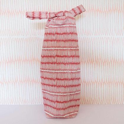 Tatami Bottle Bag - Red