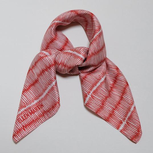 Japanese Printed Textiles Silk Scarf