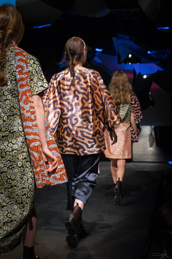 Fashion Show Printed Coral Pattern