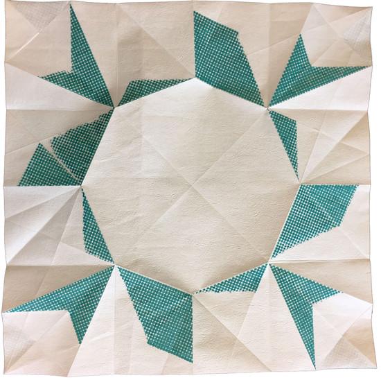 Geometric Origami Paperfolding