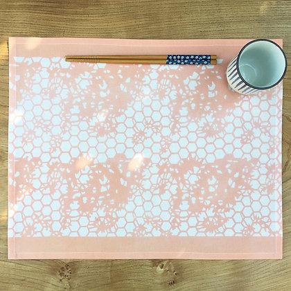 Kyoto Table Mat - Peach