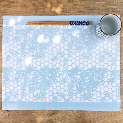 Kyoto Table Mat - Pale Blue