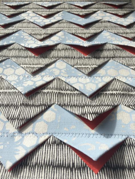 Fabric Manipulation Folded Textiles