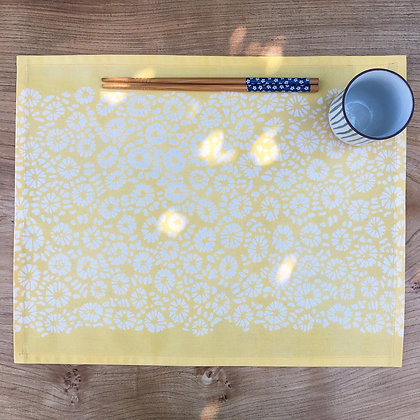 Coral Table Mat - Yellow