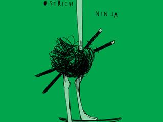 Ostrich Ninja T-shirt
