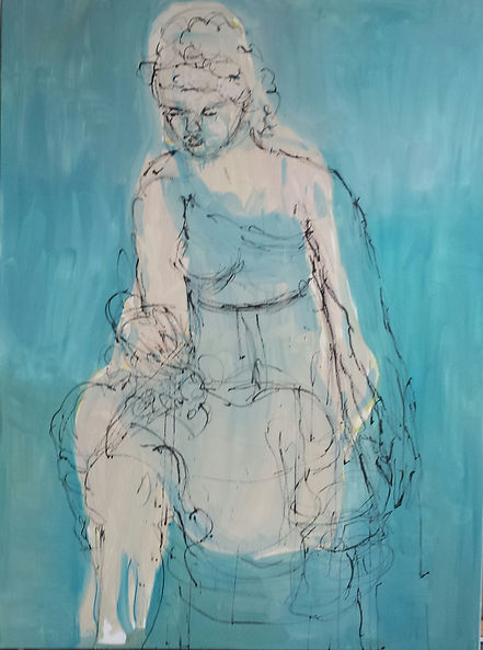 Dorothy 2016 48x36 Oil on Canvas Sold