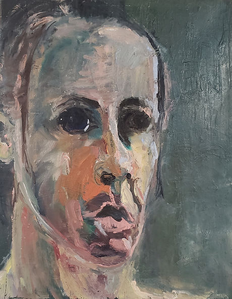 Portrait 18x22 Oil on Canvas Sold