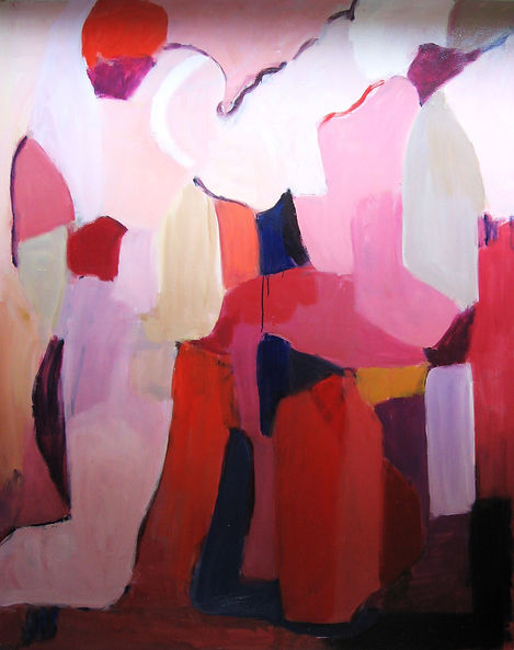 Spring (after Rodin) 2011 48x50 Oil on C