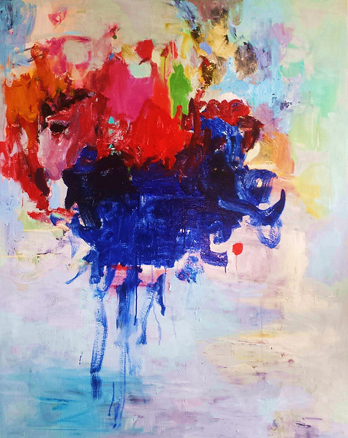 Abstraction 2016 48x60 Oil on Canvas Sol