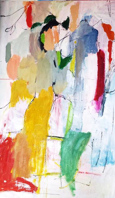 Untitled a la Gorky 2014 Oil on Canvas S