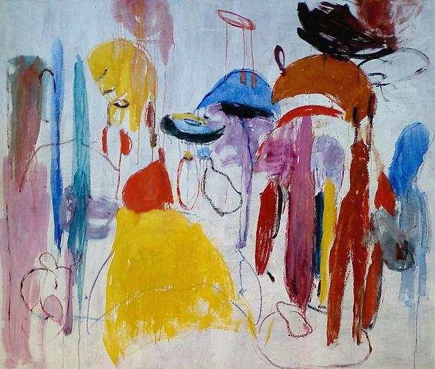 Dream Creatures III 2013 48x60 Oil on Ca