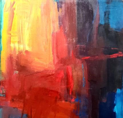 Light 47x47 Oil on Canvas $900