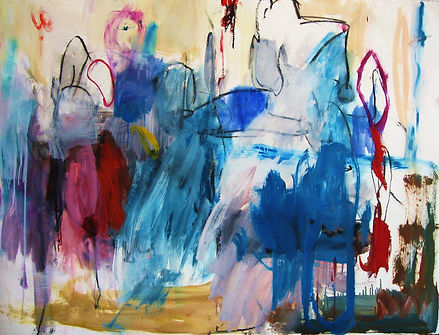 Untitled III 2011 38x50 Oil on Paper $80