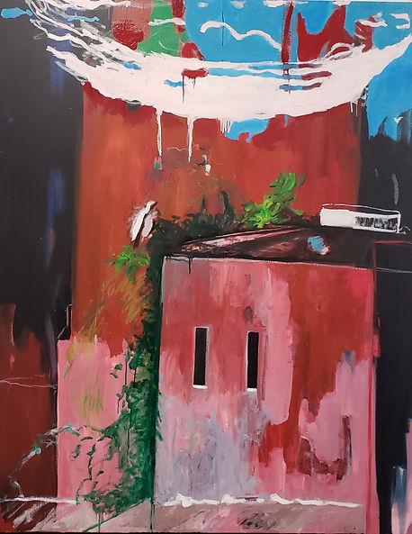 Richmond 2020 48x60 Oil on Canvas $2000