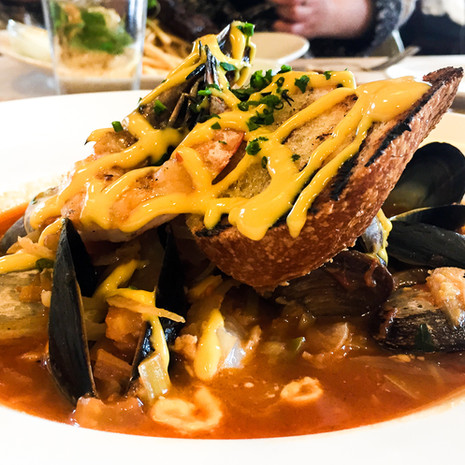 Shellfish Stew from The Girl and The Fig