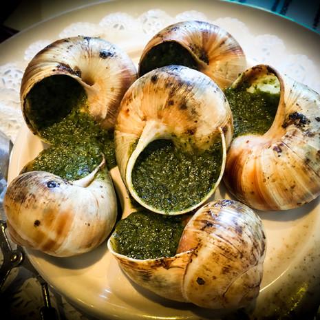 Escargots de Bourgogne from Chez Maman