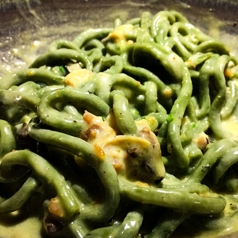 Spinach Bucatini from Otium