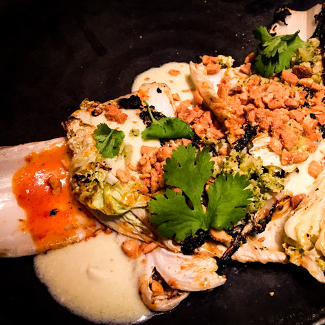 Fire Roasted Napa Cabbage from Husk