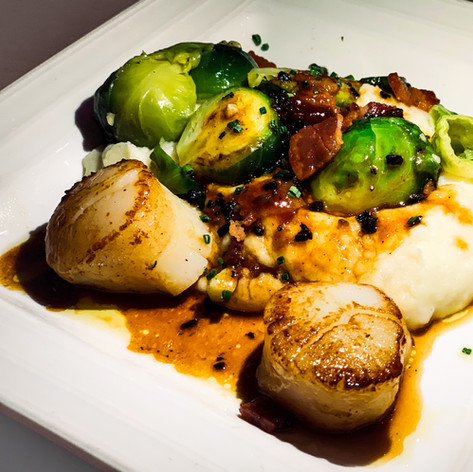 Seared Scallops from Isa Restaurant