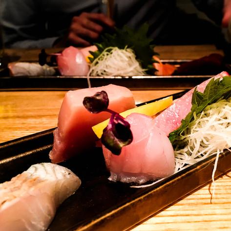 Sashimi from Akiko's Restaurant