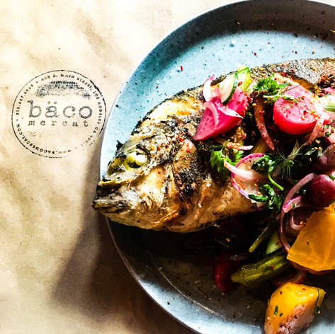 Whole Branzino from Baco Mercat