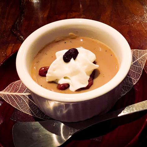 Roasted Tea Custard from Maruya