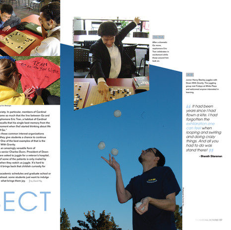 Stanford University Yearbook: Organizations Section Spread (2 pages)