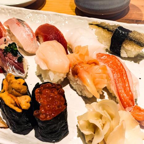 Omakase Sushi from Tsukiji Fish Market Tokyo