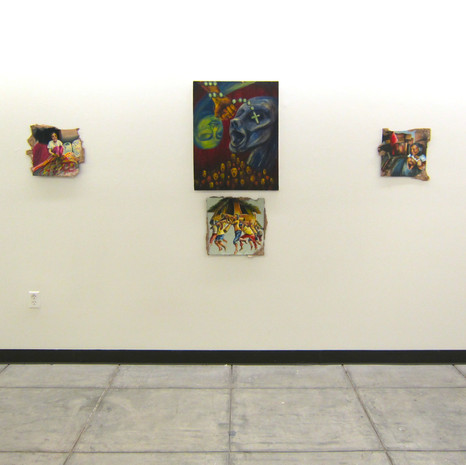 """5/2013  """"#FirstWorldProblems"""" as featured in the exhibition Nameless Flowers, held at Stanford University'sArt Subgallery on 7/7-7/16/2013."""
