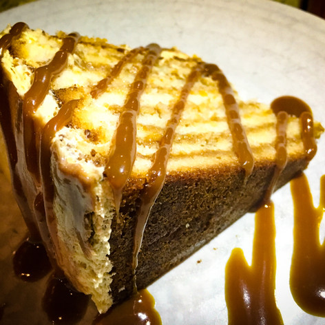 Salted Caramel Cake from Peche Seafood Grill