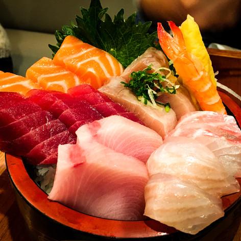 Chirashi from Yokohama