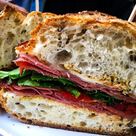 Deli Sandwich from Korbel Deli