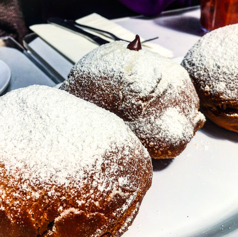 Chocolate Beignets from Brenda's French Soul Food