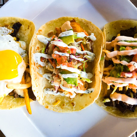 Tacos from Belly Uptown