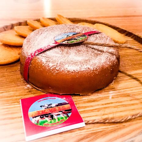 Jasper Hill Farm Cheesecake from In Situ