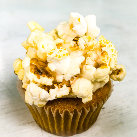 Popcorn Cupcake from James and the Giant Cupcake