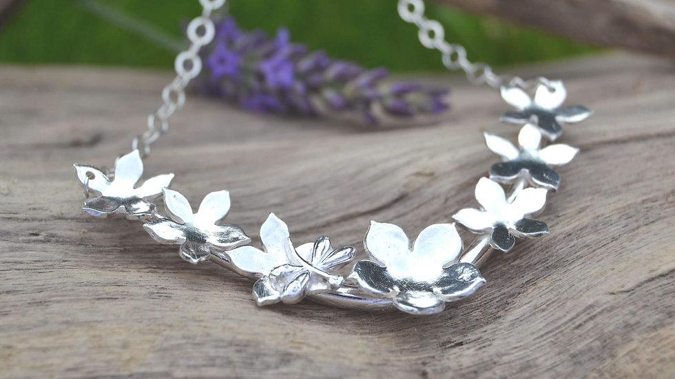 KL jewellery designs recycled silver flo