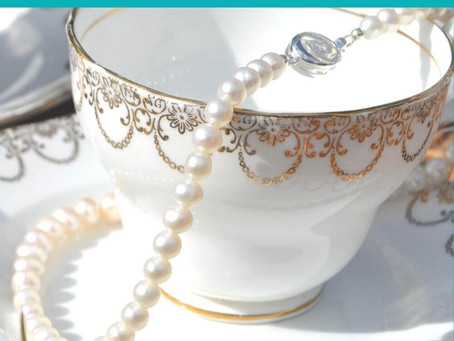 How to look after your pearls in six easy steps...