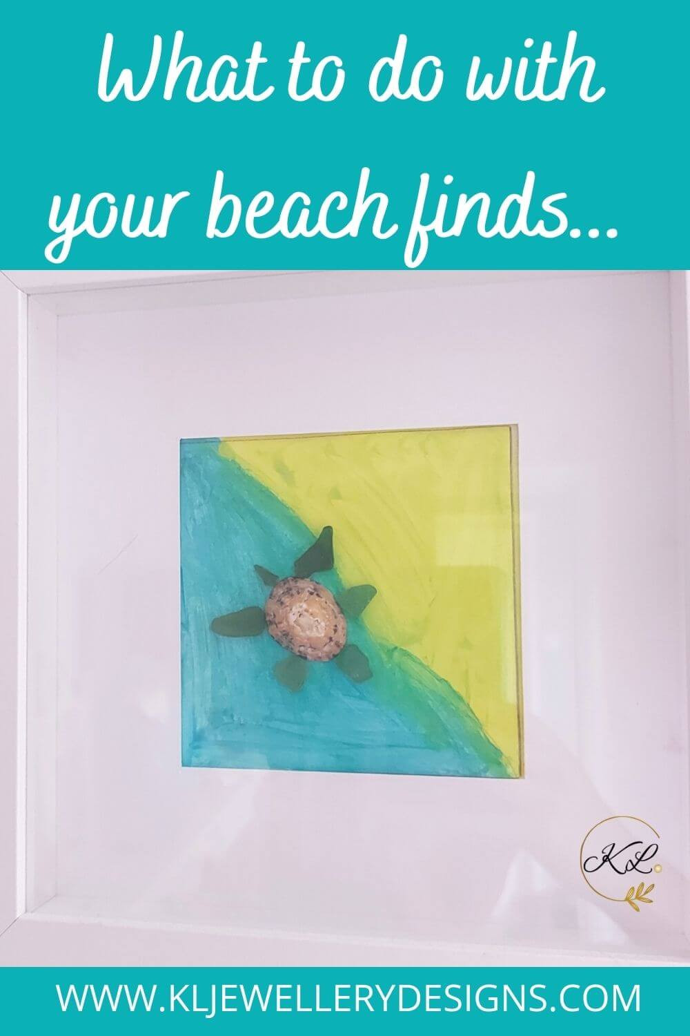 Learn how to make beach art with sea glass and shells. You can make turtle sea glass to Christmas trees made from sea glass