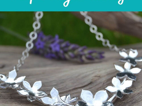 The power of nature inspired jewellery.....