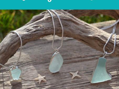 Why choose sea glass jewellery….