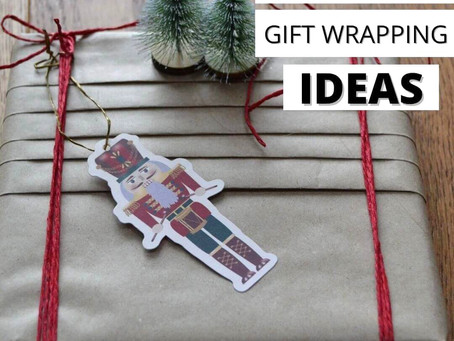 Eco-friendly gift-wrapping ideas.