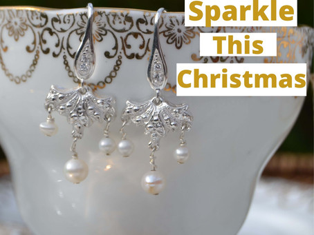 How to sparkle at your zoom party this Christmas…..