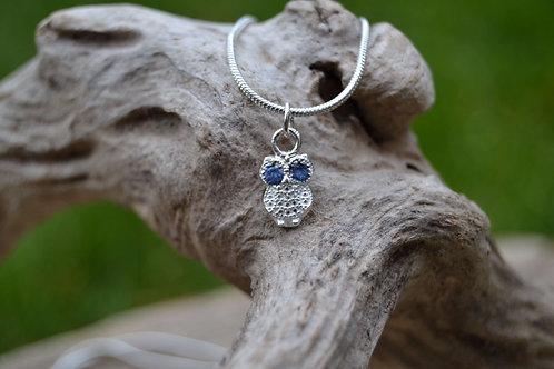 Little owl necklace