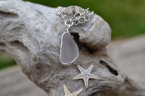 Snowdrop Sea Glass Bracelet