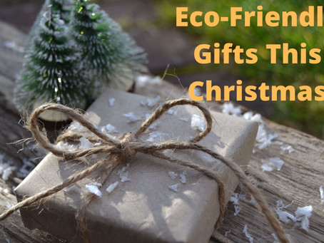 How to buy Eco-friendly gifts this Christmas?