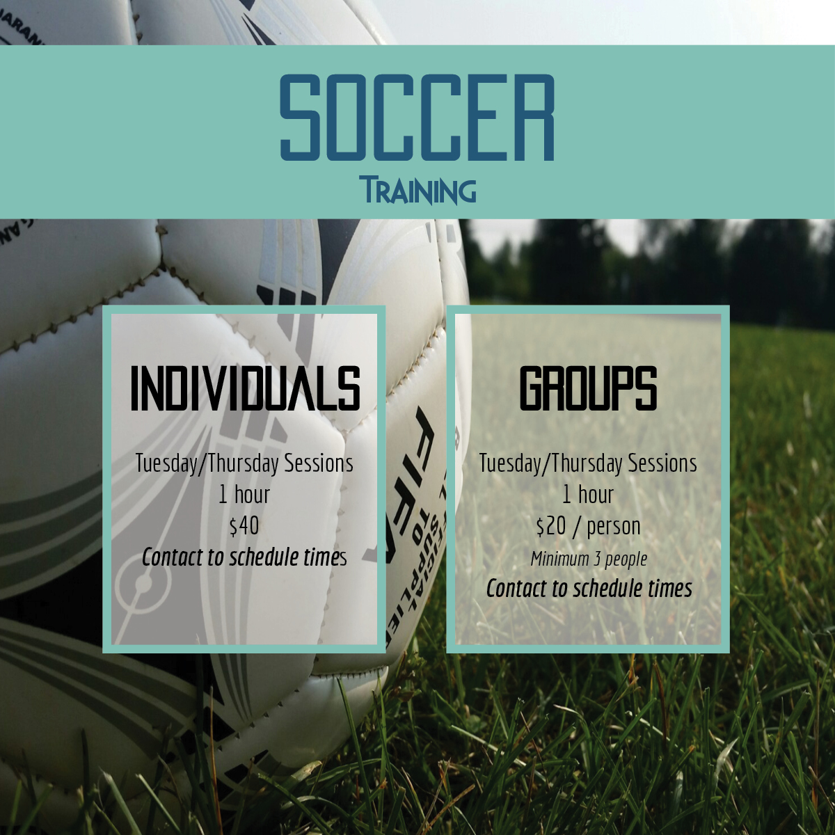 Soccer Training Promo