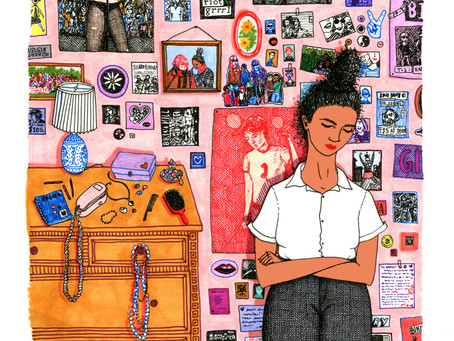 Магията е в детайла: 4 феминистки, които променят света чрез своите илюстрации